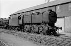 Bulleid Q1 0-6-0 33027 in Cashmores Newport scrapyard in 1966