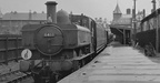 6411 at Clarence Road Cardiff in 1957