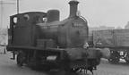 0-4-2T No. 68191 at Aberdeen in 1955