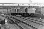 CLASS 25'S SITTING AT GUIDE BRIDGE 1980'S