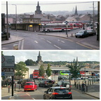 Lancaster Bus Station, then and now