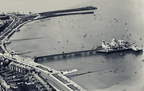 What a great photograph of the Shiny New Midland Hotel with the Central Pier from the Air. 1933