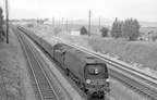 EX GCR Main Line via Nottingham Victoria, Leicester central, Rugby Central, Woodford Halse, Banbury, Reading and Basingstoke. The Pacific presumably came on to the train at Basingstoke or possibly Reading