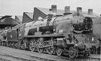 34012 Launceston at Bricklayers Arms in 1958.