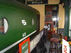 Class No. A55 in the rather unique Hells Kitchen Pub and railway museum in Castlerea Co. Roscommon Ireland. The only Pub in the world with a Diesel Locomotive in the Lounge! And me in the cab