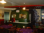 A Class No. A55 in the rather unique  Hells Kitchen  Pub and railway museum in Castlerea Co. Roscommon Ireland. The only Pub in the world with a Diesel Locomotive in the Lounge! And me in the cab