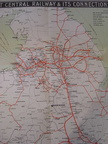 GCR Railway Route Map from 1903.