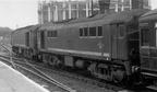 D5701 and D5705 at St. Pancras 1959