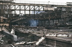 Demolition of old Snow Hill in the 70's.