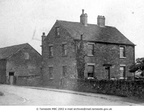 DUKINFIELD - Yew Tree Lane - near the junction with Cheetham Hill Road. These buildings are Yew Tree farmhouses and barn - 1900.