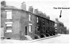 DUKINFIELD - Showing The Old General on corner