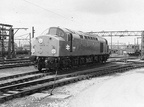 . 40114  leaving Dewsnap sidings 1977
