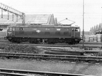 76020 runs past Dewsnap sidings towards Guide Bridge. 1977