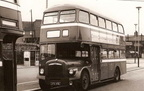HYDE - buses parked up in bus station - 1960's