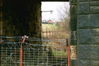 Former rail entrance into works