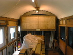 Inside a Barnum carriage from the G C R