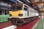 92005 at Crewe
