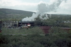 Scots Guardsman at Dinting Railway Centre in the 1980s