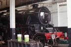 5407 inside Carnforth Shed