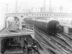 Ambulance Train being loaded at Southampton 1918