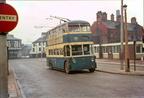 Trolleybuses Ashton-under-Lyne at Stalybridge
