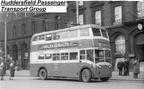 Ashton Under Lyne 81 Trolleybus LTC 775