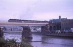 45200 crosses the river lune ,Lancaster