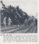 3-Stalybridge to Blackpool Derailed Train Victoria Station Manchester 1950