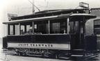 03-SHMD Tram no 28 at Depot