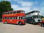 854 FNN  1960 AEC Regent V 854FNN [now reregistered AAL522A