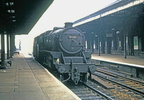 'Black 5' 4-6-0, No. 45321 running light through Wigan. (9th September 1967