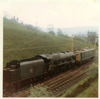 Wednesday, 26th May 1969 Arrival of 46115 Scots Guardsman from Howarth hauled by E26009