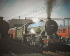 -Ex LNER B17 Class No.61620 'Clumber' awaiting departure from Sheffield Victoria