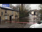 Storm Angus Property in Stalybridge destroyed by floods