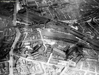aerial view of London Road and Mayfield Stations, about 1925.