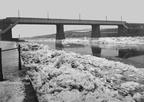 Carlisle Bridge in the big Freeze of 1895.