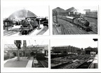4 photographs I .Central,(n.d.)London Rd,(1954)Oxford Rd,(1960)and Liverpool Rd(1980)