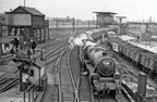 PHOTO LANCASHIRE MANCHESTER LONDON ROAD RAILWAY STATION DURING REBUILDING 1959