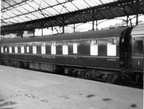 BR MK1 Kitchen Car M80013 seen at Euston 1962