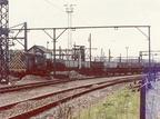 08611 shunts empties at Dewsnap sidings 10.5.1977.