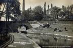 postcards of Cheshire. Captain Clarke's Bridge, Woodend Lane,