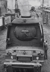 34054 Lord Beaverbrook on shed at Yeovil in 1963