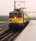 1502 'DIANA' arriving back at Amsterdam Sloterdijk in the evening of 15th October 1991.