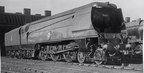 35005 Canadian Pacific at Rugby in 1950 . It was there for automatic stoker tests
