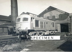 CIE (Irish Railways) Class 001 locomotive A1 new at Dukinfield Works 1955