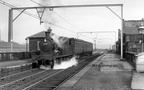 Dukinfield station shown here with a 'push-pull' service probably bound for Guide Bridge (again coutesy of the M.L.S.) and undated.