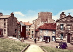 A very colourful Castle Hill. 1950's