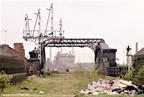 Great Central Railway track bed, Leicester 1980