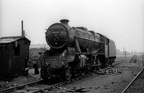 Stanier 8F 2-8-0 48322 on Gorton shed in the mid 1960s. Photo by Les Pitcher
