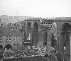Brighton Railway Viaduct after bomb damage WWll